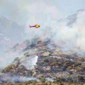 El incendio de Girona quema cerca de 500 hectáreas y obliga a evacuar a 350 personas