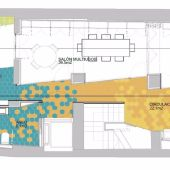 Plano de la actuación en el Centro  Cívico de Villafranqueza