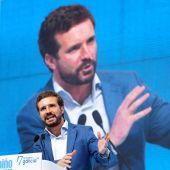 """Pablo Casado ve a los populares """"imbatibles"""" y ganando las generales """"sean cuando sean"""""""