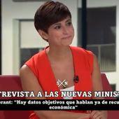 """Isabel Rodríguez, nueva portavoz del Gobierno: """"El cambio de Gobierno no solo es de personas, también de una etapa muy dura"""""""