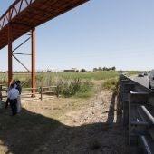 Una imagen de la vía verde a su paso a Rota