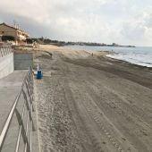 Ya se puede acceder a la playa de Las Villas por calle Las Olas en Pilar de la Horadada