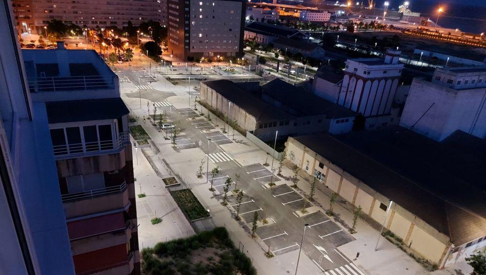 Renovaciones del pavimentado del barrio Benalúa Sur