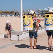 La campaña ya está activa en las playas de Cádiz