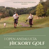 Cartel del I Open Andalucía Hickory Golf