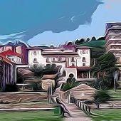 Vista del Palacio del Conde de Toreno