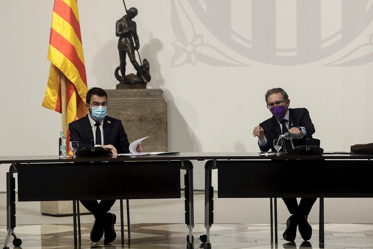 Tertulia: ¿Debe la Generalitat hacerse cargo de las fianzas de los presos del procès?