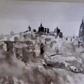 Un total de 80 obras del pintor Marian Kratochwil se exponen hasta el 3 de octubre en el Museo de Santa Cruz de Toledo