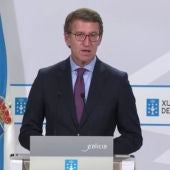 Alberto Núñez Feijoo tras el Consello de la Xunta de este jueves