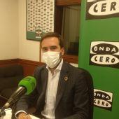 Javier Hurtado, consejero de comercio, turismo y consumo
