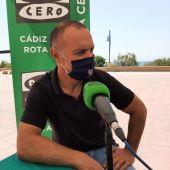El ciclista José Manuel Moreno Periñán