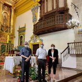 El Ayuntamiento de Albatera concede una subvención a la Iglesia San-tiago Apóstol para la adquisición de un órgano