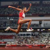 Ana Peleteiro conquista el bronce olímpico en triple salto