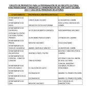 Tineo estrena el circuito cultural Xacobéu que se desarrollará en 18 concejos hasta diciembre