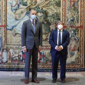 """El presidente del Parlament transmite al Rey que Baleares está """"mucho mejor que hace un año"""""""