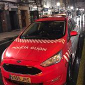 Imagen de archivo de un coche de la Policía de Gijón