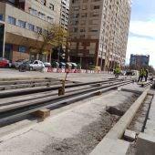 Las obras de ampliación de la L10 permitirán conectar el centro con la Ciutat de Les Arts i les Ciències.