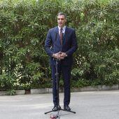 """Sánchez afirma que el Gobierno va a """"persistir en su compromiso"""" hasta que vea """"superada la pandemia"""" en Baleares"""