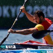Saúl Craviotto y Carlos Arévalo, directos a semifinales en el K1