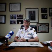 El comisario jefe de la Brigada Provincial de la Policía Judicial de A Coruña, Pedro Agudo