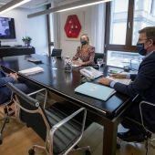 Reunión del comité clínico la pasada tarde