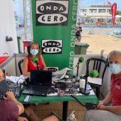 Elka Dimitrova entrevista al gerente de la Fundación Palma 365, Pedro Homar, en el RCNP.
