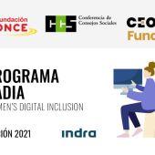 Una cacereña con discapacidad participará en la segunda convocatoria del Programa RADIA, edición Indra 21/22