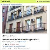 Piso en venta en calle de Arganzuela