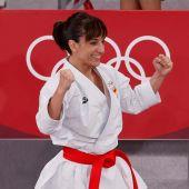 Sandra Sánchez, medalla de oro en karate