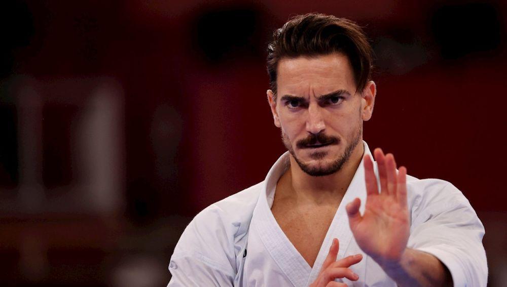 Damián Quintero, karateka español, en los Juegos Olímpicos de Tokio 2020