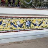 La réplica es una obra del ceramista talaverano Juan Carlos Pinero