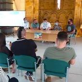Presentación del Mural colaborativo de Villamayor