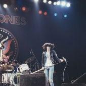 Los 'Ramones' durante un concierto