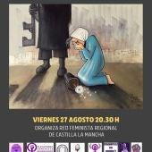 La Asamblea Feminista 7N Alcázar se suma a los rechazos ante los últimos sucesos acaecidos en Afganistán