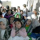 Niñas afganas