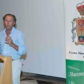 José María Román, alcalde de Chiclana y Diputado Provincial de Turismo