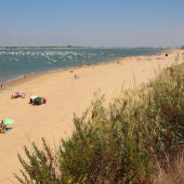 Desembocadura del Río Guadalquivir en Sanlúcar