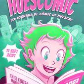 Cartel de la IX Edición Huecómic, obra de Alicia Soravilla