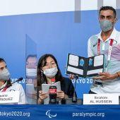 Los ejemplos de superación del equipo de refugiados en los Juegos Paralímpicos