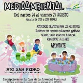 Cartel del evento que se va a realizar en Puerto Real
