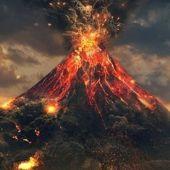 Año 79 el volcán Vesubio entra en erupción, arrasando las ciudades romanas de Pompeya, Herculano y Estabia