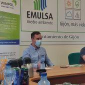 Olmo Ron y Alfonso Baragaño, presidente y director-gerente de EMULSA