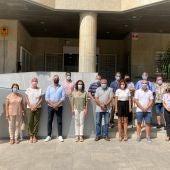 Minuto de silencio por las victimas del bombardeo de 1938 en Torrevieja