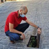 Estado de las alcantarillas en Segovia