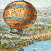 En 1783 los hermanos Montgolfier lanzan un globo al espacio en París que recorre 20 km en 45 minutos