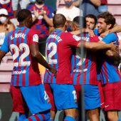 Memphis da la victoria al Barça en un partido gris