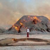 El incendio de material de biomasa ya está controlado