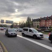 Entrada Oviedo, Santullano, Santuyano, Plaza Cruz Roja