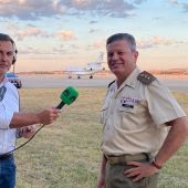 ElcoronelAlfonso Álvarez Planelles con Carlos Alsina