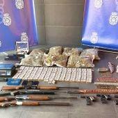 Desarticulado un grupo que traficaba con drogas en Cáceres, Salamanca, Mérida y Sevilla